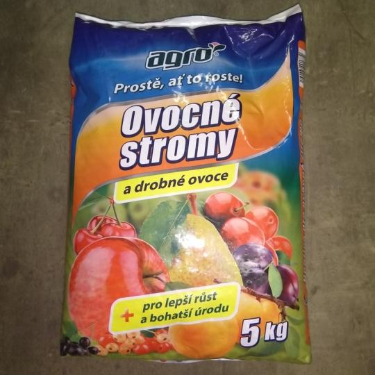 AGRO- Hnojivo na ovocné stromy, 5 kg