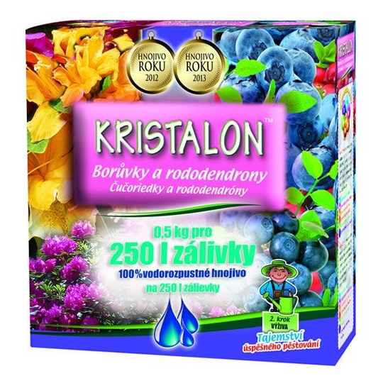 Kristalon Čučoriedka a rododendrón, 500 g