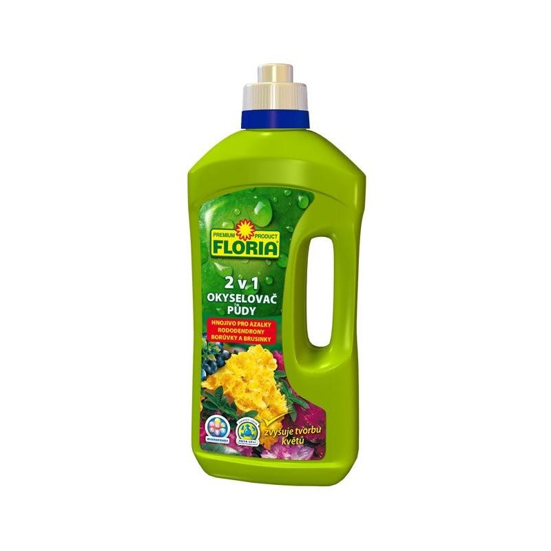 Okysľovač pôdy a kvapalné hnojivo na azalky a rododendróny 2 v 1
