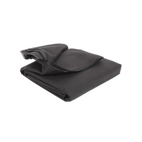 Netkaná textília 1,6x10m čierna