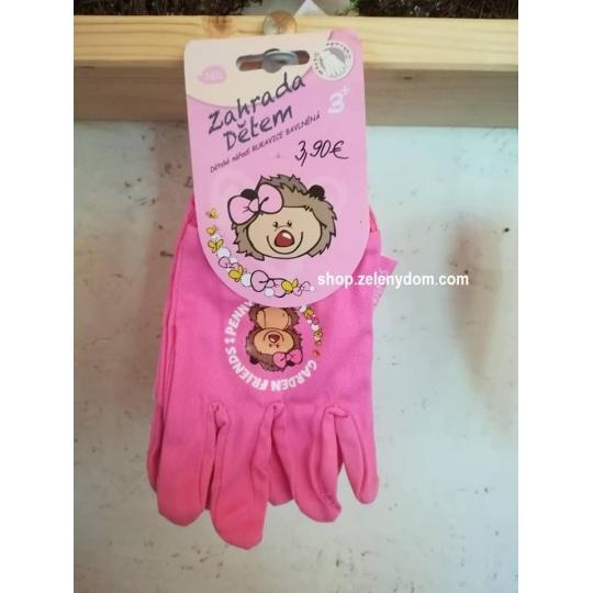 Detské záhradné rukavice
