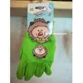Detské záhradné rukavice, zelené