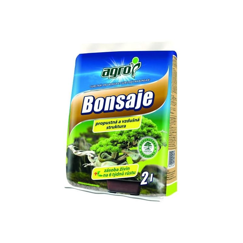 BONSAJE - substrát na bonsaje