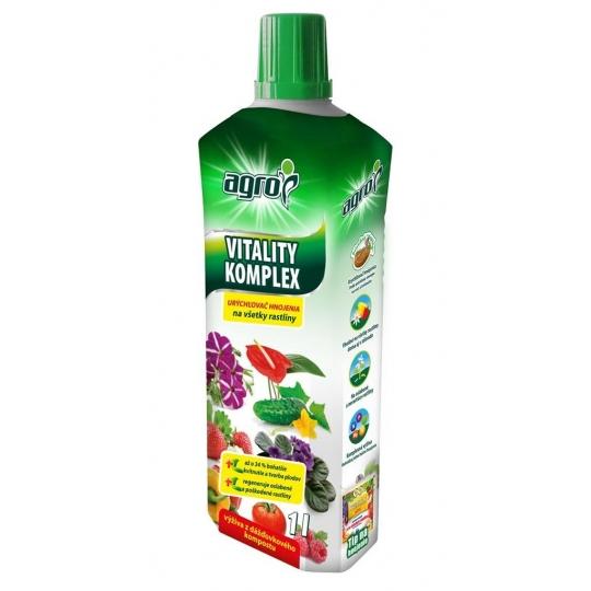 VITALITY KOMPLEX - Živá voda pre vaše rastliny, 1l