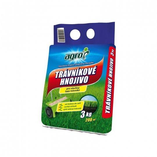 Trávnikové hnojivo - všetky tipy trávnikov