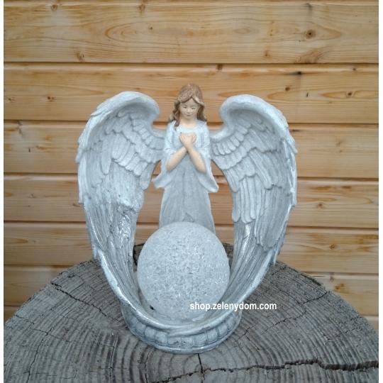 Vianočný Anjel 24cm, svietiaci