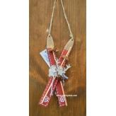 Vianočné lyže 17cm