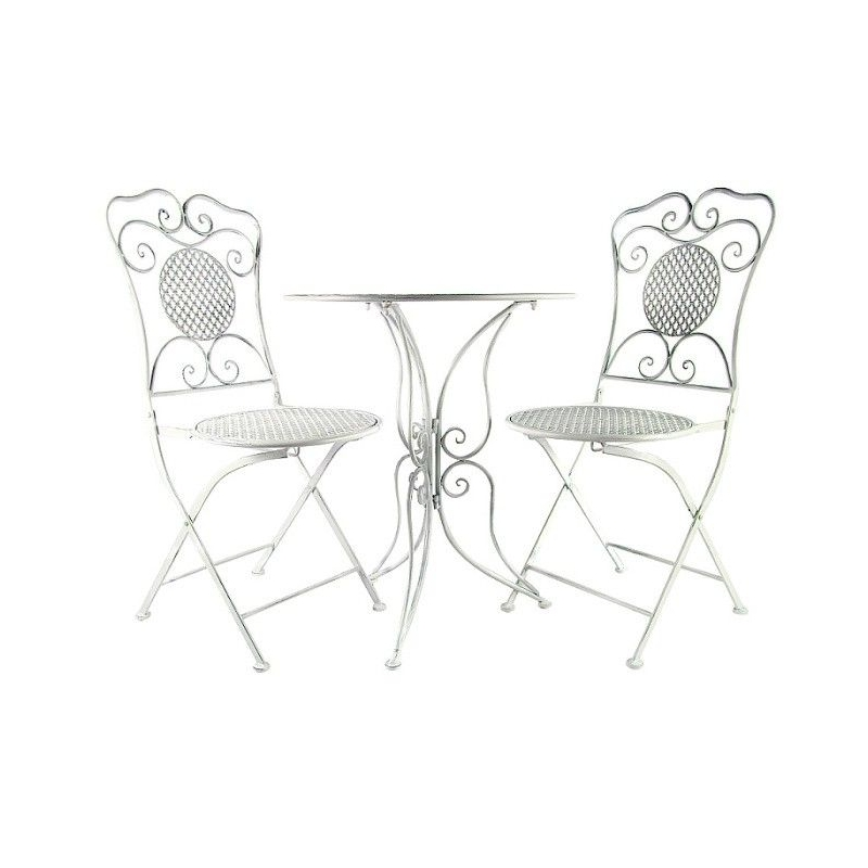 """Kovový stôl a stoličky """"Provence"""""""