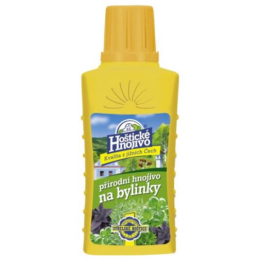 Hoštické hnojivo na bylinky, 200ml
