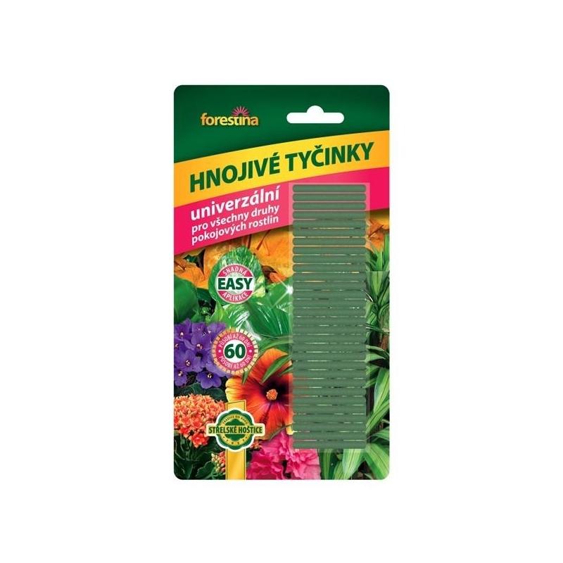 Tyčinkové hnojivo univerzálne FORESTINA, 30 ks