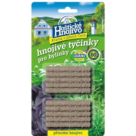 Tyčinkové hnojivo HOŠTICKÉ bylinky 10ks