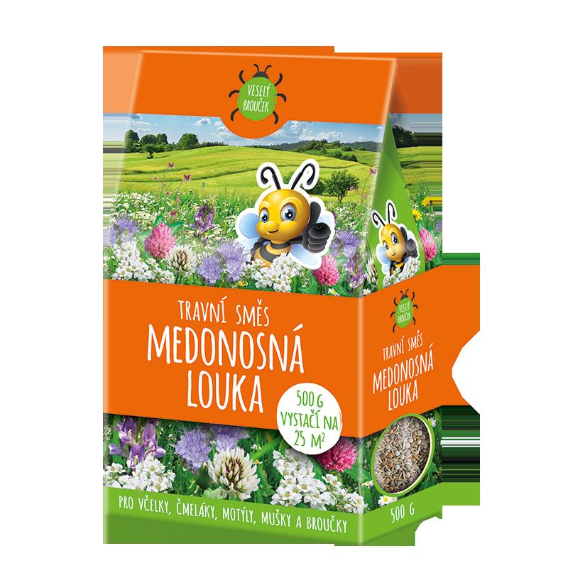 Medonosná lúka - trávna zmes, 500g