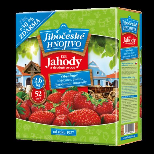 Hnojivo na jahody a drobné ovocie, 2kg + 30% ZDARMA