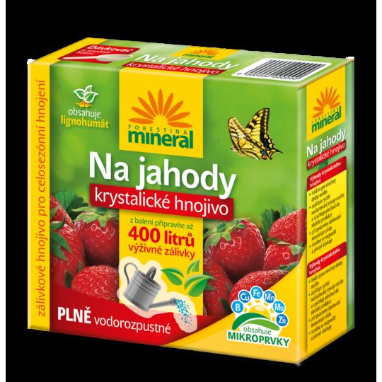 Kryštalické hnojivo na jahody a drobné ovocie, 400g