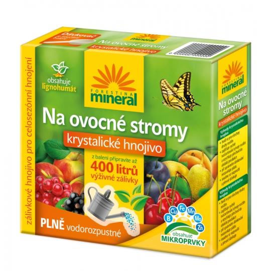 Kryštalické hnojivo LIGNO pre ovocné stromy,  400g FORESTINA