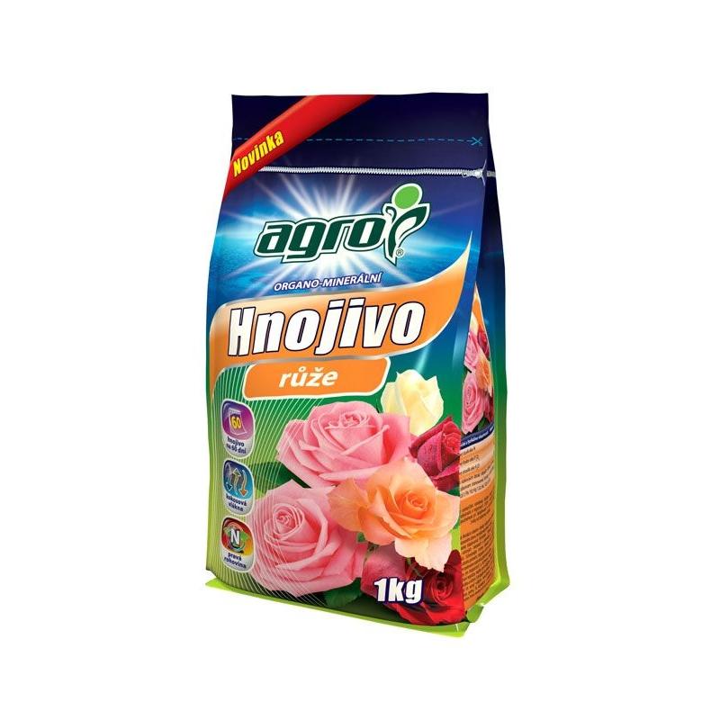 Organicko - minerálne hnojivo na ruže