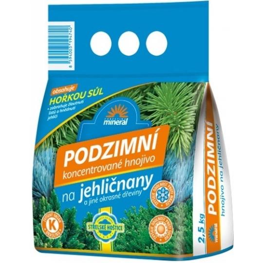 Mineral - Jesenné hnojivo na ihličnany 2,5 kg