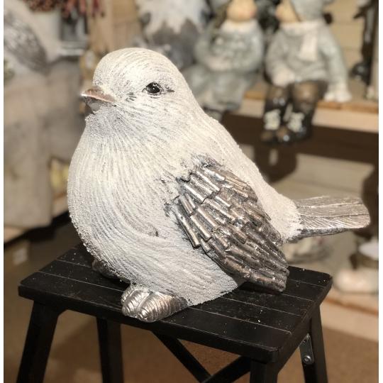 Vianočný vrabec, 37cm, keramická dekorácia