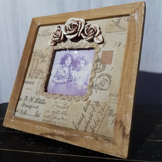 Rámik na fotografiu, drevený