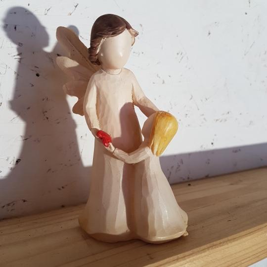 Anjelik s dievčatkom