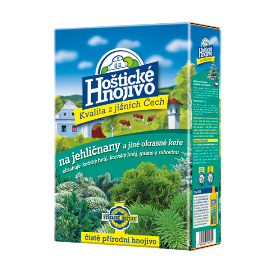 Hoštické hnojivo - Hnojivo na ihličnany, 1 kg
