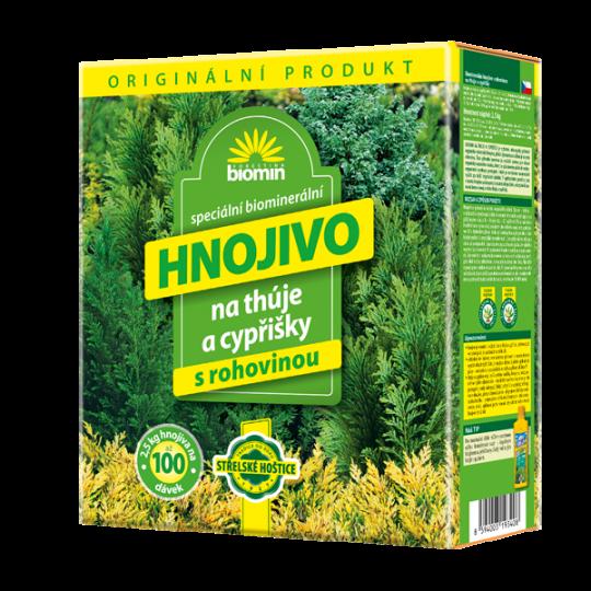 Biomin - Hnojivo na tuje cyprušteky, 2,5 kg