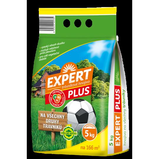 Expert plus - trávnikové hnojivo, 2,5 kg