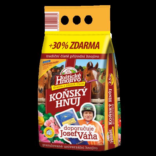 Konský hnoj- Hoštické hnojivo, 2,5kg + 30%