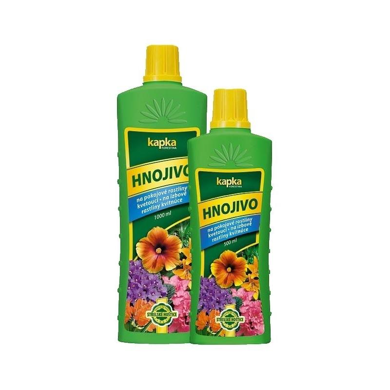Hnojivo na izbové kvitnúce - KAPKA, 500 ml