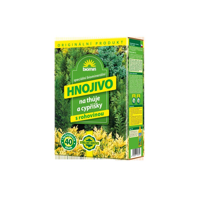 Orgamin - Hnojivo na tuje, 1 kg