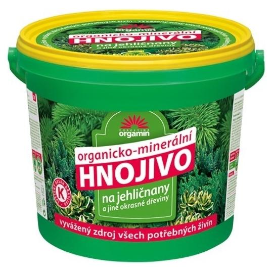 Orgamin - Hnojivo na ihličnany, vedierko 5 kg