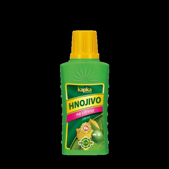 Hnojivo na citrusy - KAPKA, 200 ml