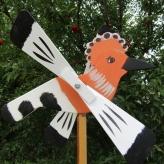 Dudok vrtuľka, záhradná dekorácia