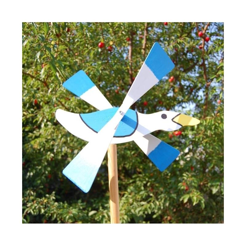 Čajka vrtuľka, záhradná dekorácia
