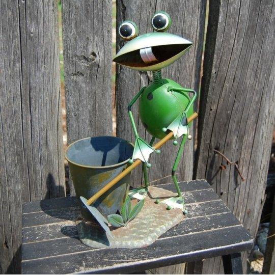 Žaba zelená, dekorácia