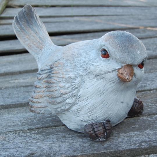 Vtáčik, keramická dekorácia