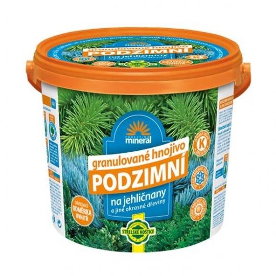 Mineral - Jesenné hnojivo na ihličnany, vedierko 5 kg