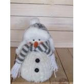 Snehuliak textilná dekorácia, cena za 1ks